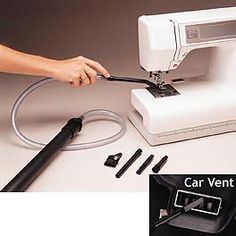 Vacuum Attachment Kit from Clotillde.com...great for cleaning my sewing machines and computer keyboard.