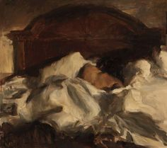 """Slumber"" painted by Ron Hicks in 2011"