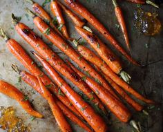 Pepper Jelly Roasted Carrots