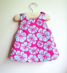 The Tahiti Reversible Pinafore top or dress by chocolatineboutique, $22.00- For Sophie or Rose...