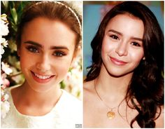Lily Collins and Yassi Pressman Yassi Pressman, Lily Collins, Celebrity Look, Crushes, Dancer, Actresses, Celebrities, Model, Female Actresses