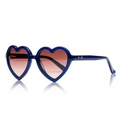 Navy Lola Sunglasses by Sons + Daughters Eyewear - Junior Edition www.junioredition.com