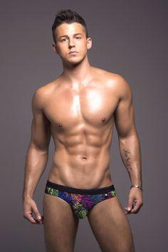 Andrew Christian Mens Bikini Swim Palm s Size Small New Swimwear with Tag | eBay