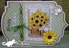 Ticket Card, Birthday Cards, Happy Birthday, 3d Cards, Small Cards, Marianne Design, Studio Lighting, Diy And Crafts, Joy