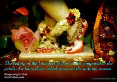 Srila Prabhupada on Beauty of The Lotus Feet of The Lord