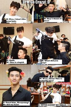 How KhunYoung couple plays :) KhunYoung still ships you know! XD | allkpop Meme Center