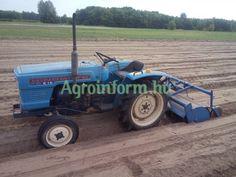 Hinomoto E16 japán kistraktor gyári talajmarójával eladó - Agroinform.com