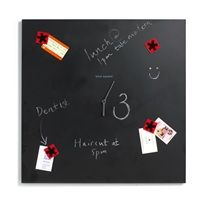 BLACK + BLUM Time Square Wall Clock with Chalk Board and Magnet.  Expect to Pay: £53.00
