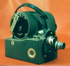 RCA Victor sound camera. The world's first 16mm optical sound-on-film camera introduced in 1935.