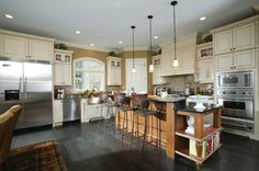 Open kitchen floor plans with great functional island | Plan 119D-0013 | House Plans and More