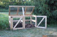 Double Compost Bins DIY Double Compost Bin Plans Rogue Engineer The post Double Compost Bins appeared first on Garden Ideas. Garden Compost, Vegetable Garden, Compost Bucket, Build Compost Bin, Composting Process, Outdoor Projects, Backyard Projects, Outdoor Ideas, Garden Planning