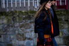 Finally! A Practical Winter Street Style Trend: Puffer Coats Photos | W Magazine