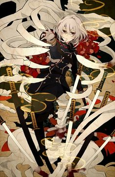 OFF] Touken Ranbu High Quality Canvas Roll Up Wall Scroll Anime Painting Decoration Touken Ranbu, Manga Art, Manga Anime, Anime Art, Katana, Chibi, Arte Popular, Manga Illustration, Anime Cosplay