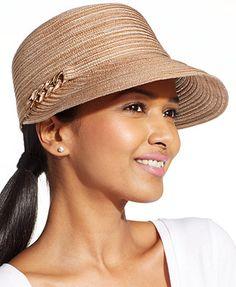 d59ad0e9305 August Hats Viscose Framer Hat Handbags   Accessories - Macy s