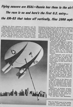 Flying Saucers are real. And they are russian.