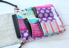 Evelyn Tablet Bag PDF Pattern