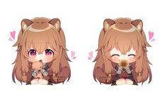 Chibi Raphtalia [The Rising Of The Shield Hero] Neko, Anime Chibi, Manga Anime, Knight Shield, Loli Kawaii, Chinese Cartoon, Dibujos Cute, Cute Chibi, Anime Art Girl