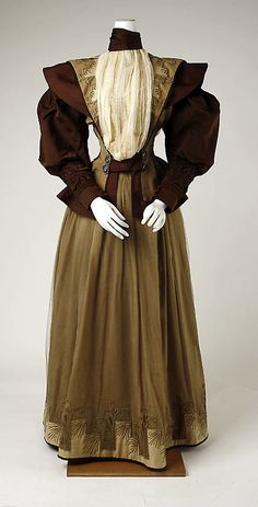 Dress 1895 The Metropolitan Museum of Art