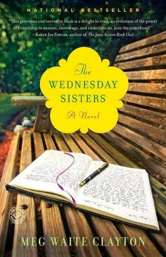 The Wednesday Sisters is about 5 young mothers who first meet in a neighborhood park in the late 1960s. A great book about encouragement, embracing who you are and what you hope to become. A top 20 Book Club pick 2010. A favorite!