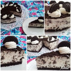 Oreo Cake, Cookie Recipes, Deserts, Sweets, Snacks, Cookies, Chocolate, Food, Lego Worlds