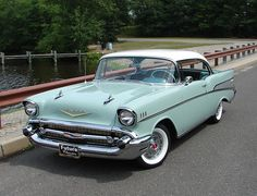 1957 Chevy Bel Air - It's a sure bet that when today's cars are almost 70 years old they won't be revered like the Tri-Fives were.