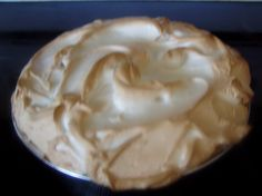 This is a very rich pie with a peanut butter pudding filling and a meringue topping. Sometimes I use whipped cream instead of the meringue. This pie is as southern as it gets.