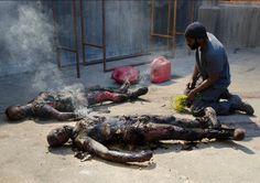 Tyreese Walking Dead Rip | The Walking Dead saison 4 : Tyreese découvre les corps calcinés de ...