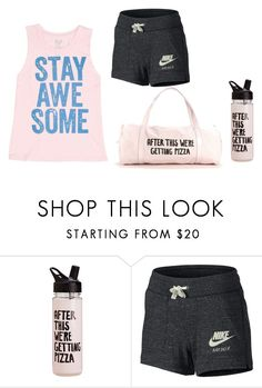 """""""Untitled #84"""" by madelyn-anderson-1 on Polyvore featuring ban.do, NIKE and Billabong"""