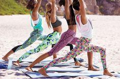 Power moves in power prints.   Victoria's Secret Sport