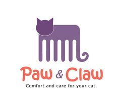 Logo and stationery design for Paw & Claw. on Behance