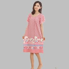 Summer Loose Large Size Nightgowns For Women Long Cartoon Girls Nightwear Nightdress Cotton And Silk Sleepshirt XXL E0005     Tag a friend who would love this!     FREE Shipping Worldwide     Buy one here---> http://oneclickmarket.co.uk/products/summer-loose-large-size-nightgowns-for-women-long-cartoon-girls-nightwear-nightdress-cotton-and-silk-sleepshirt-xxl-e0005/