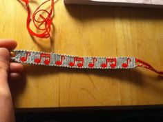 Alpha Friendship Bracelet Pattern #6740 - BraceletBook.com