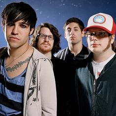 I can't wait until there is a Fall Out Boy runion tour...