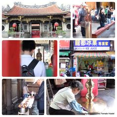 metro: Longshan Temple Station Exit 1. #Longshan (lungshan) #Temple is a famous old temple in #Taiwan. It is for worshiping Guanshiyin Budda and other divine spirits. #龍山寺 #Taipei