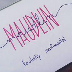 Maudlin. Foolishly sentimental. #wordoftheweek