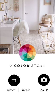 'A Color Story' Photo Editing App
