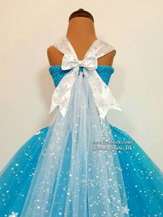 Ice Queen Super Sparkly Tutu Dress-Birthday Party Photo