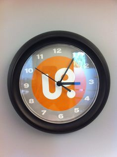 UofR Press clock! Product Launch, Clock, Wall, Home Decor, Watch, Homemade Home Decor, Clocks, Decoration Home, The Hours