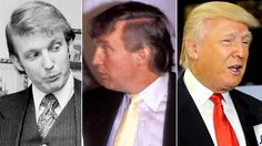 An Illustrated History of Donald Trump's Hair. Warning! Don't Read Before Lunch! Photos | Vanity Fair