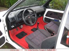 ** SOLD ** Complete interior for Peugeot 106 1.3 Rallye phase 1. Includes seats, carpet, seat belts