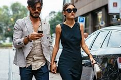 Patricia Manfield & Giotto Calendoli, Milan Fashion Week