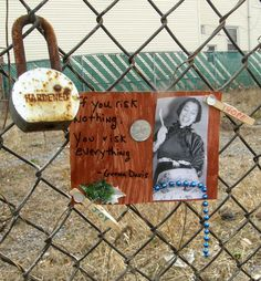 Street art with Zora Neale Hurston and quote by Geena Davis. Art and photo by Lilith Dorsey.