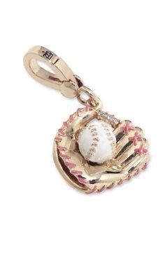 Juicy Couture Baseball Glove Charm