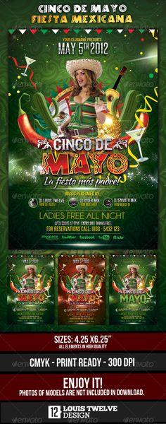 Cinco de Mayo Party - Flyer Template