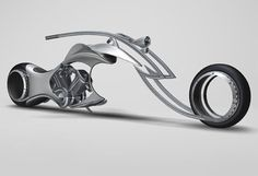 Swordfish Motorcycle Concept Imagines Our Hubless Wheeled Future