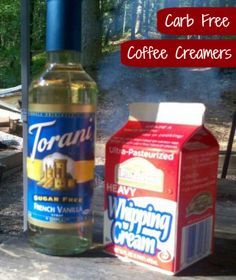 Carb Free Coffee Creamer #LowCarb #Coffee  | TravelingLowCarb.com - Low Carb Diet Tips for Busy People