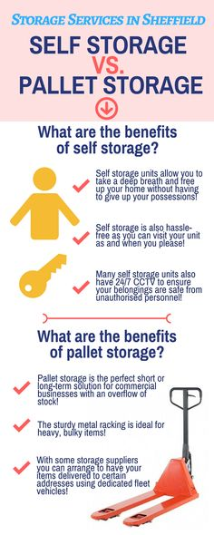 Ab Castle specialise specialise in storage services in various locations, including Sheffield, Rotherham and South Yorkshire!  We offer highly secure storage solutions for when you need to keep hold of your possessions, but don't necessarily have the space at home! We specialise in both self-storage and pallet storage - take a look at this infographic to find out the differences!   For further details please visit this page: http://www.abcastle.co.uk/storage  4 Edmund Avenue, Sheffield