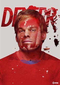 Dexter #diseño gráfico. Entre en el fantástico mundo de elcafeatomico.com para descubrir muchas más cosas!