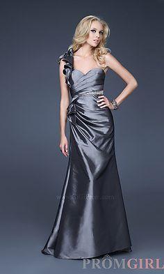 Elegant One Shoulder Dress by Gigi at PromGirl.com