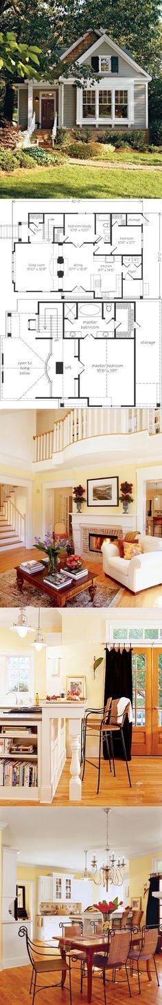 Beautiful Small House Floor Plan #inspiration #decor #floorplan
